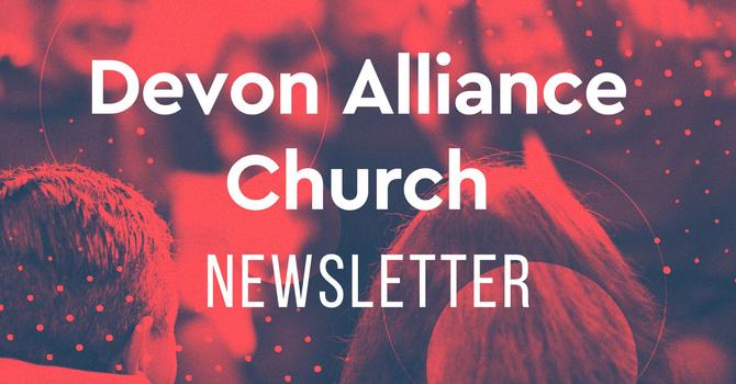 Monthly Newsletter on Website image
