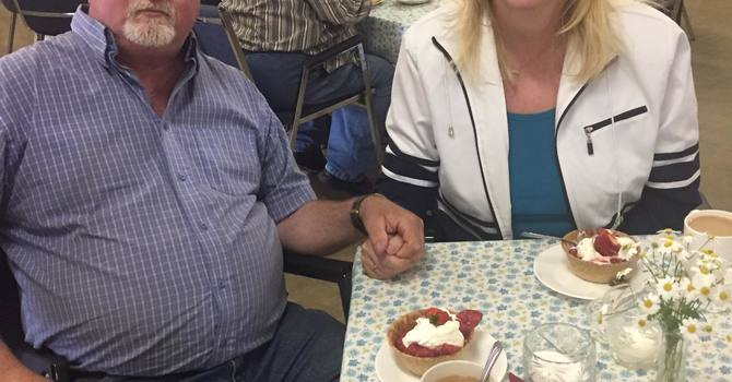 Strawberry Social celebrating Mission 125th Birthday image