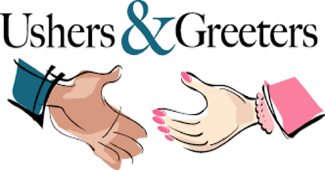 Greeter's and Children Church Teachers Needed! image