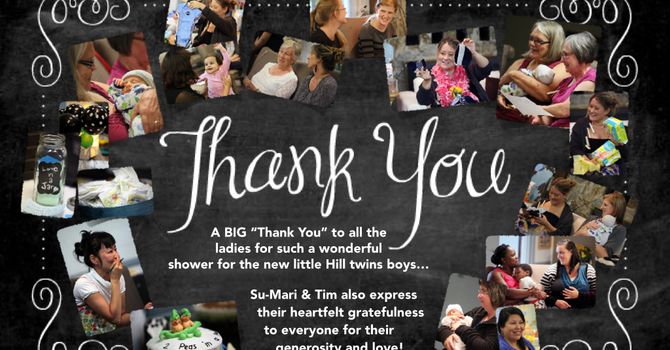 Shower Thank You For Hill Boys! image
