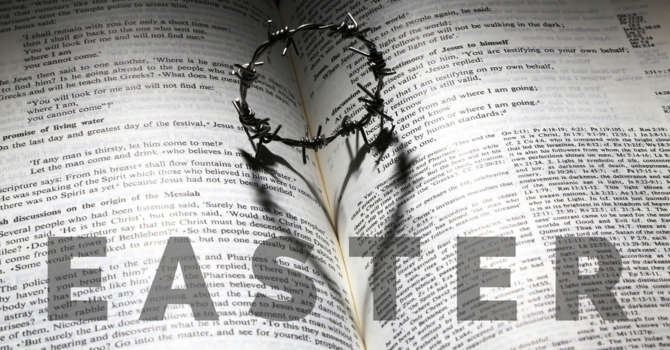 Join us for Easter! Celebrate with us online starting Friday, April 10 image