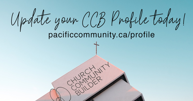 Update your CCB Profile image