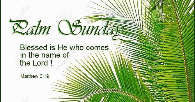 Palm Sunday Home Prayer Service