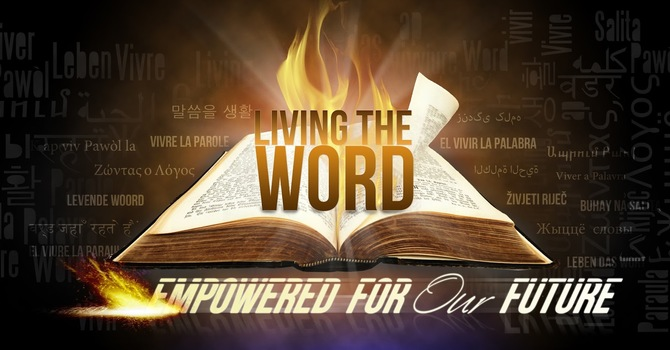 THE LIVING WORD OF GOD! image