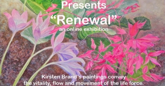 "Chapel Gallery Presents: Kirsten Brand, ""Renewal""  image"