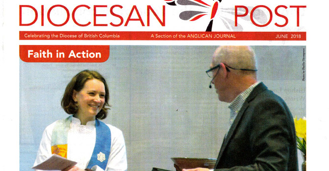 Diocesan Post: Faith in Action -The Covenanting of Rev. Karen  Hollis  image