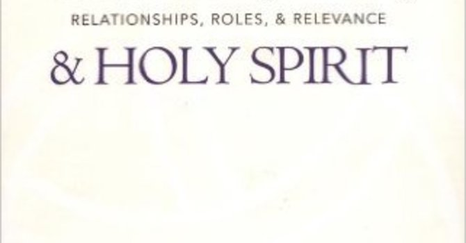 Father, Son, & Holy Spirit  image