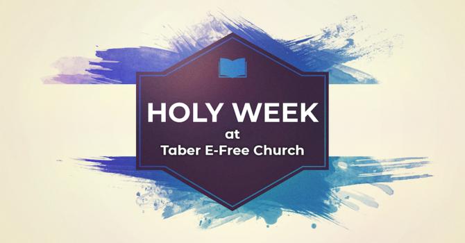 Holy Week Update image
