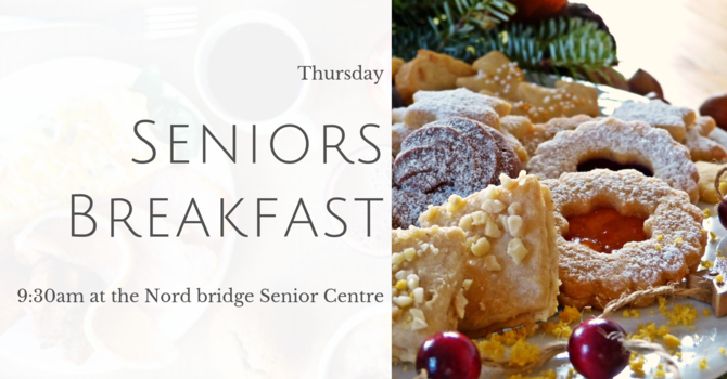 Senior's Breakfast