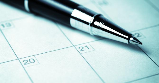 Master Sunday Schedule image