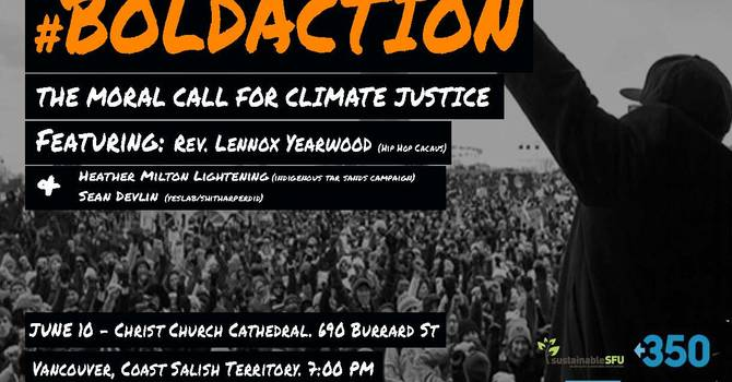 #Boldaction - The Moral Call for Climate Justice image