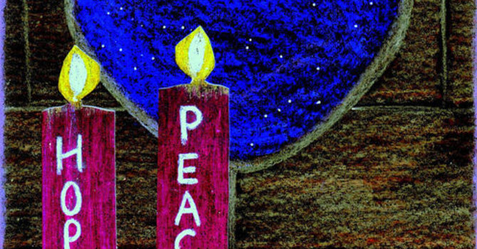 December 10, 2017~ Advent II - PEACE image