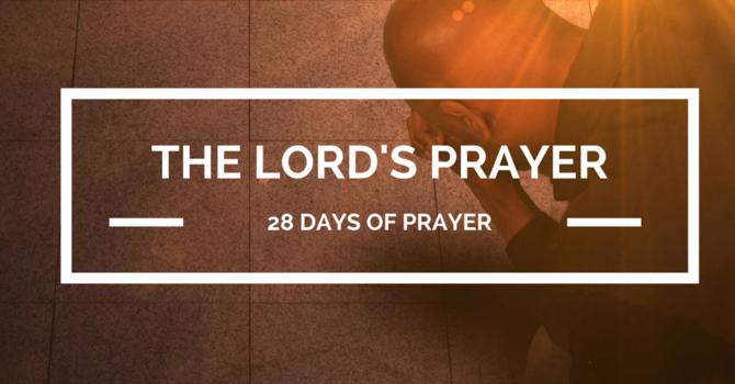 28 Days of Prayer image