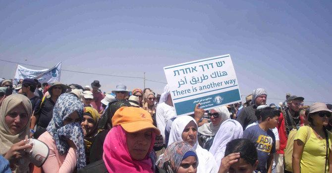 Israeli Peace Activists Aid  Susiya image