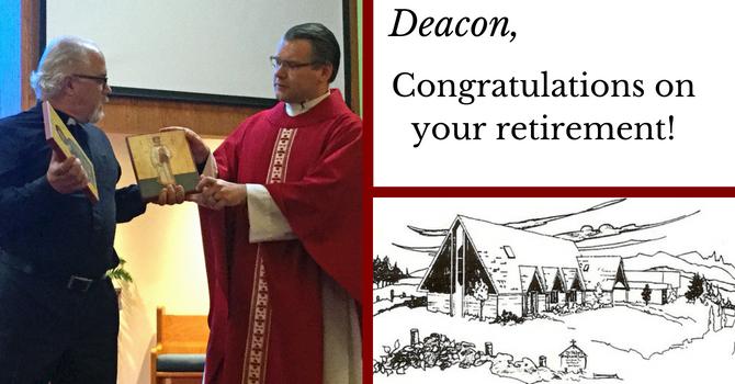 Our Deacon, the Reverend David L. Fitzsimmons, retires image