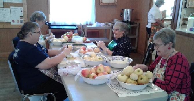 Peeling Apples for Apple Pies image