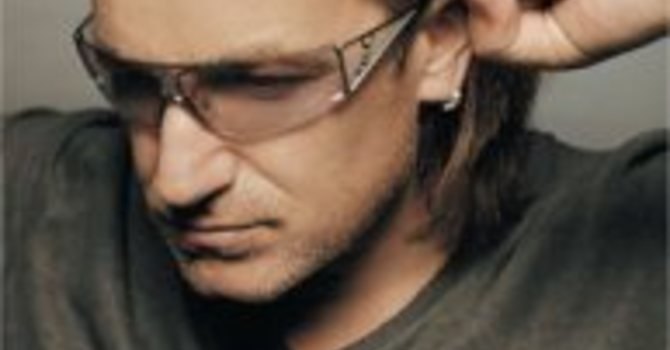 Bono on Difference betwn Grace and Karma image