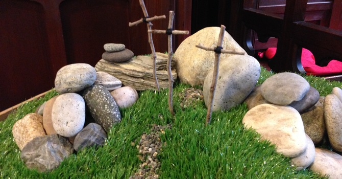 Services for Easter at St. Helen's image