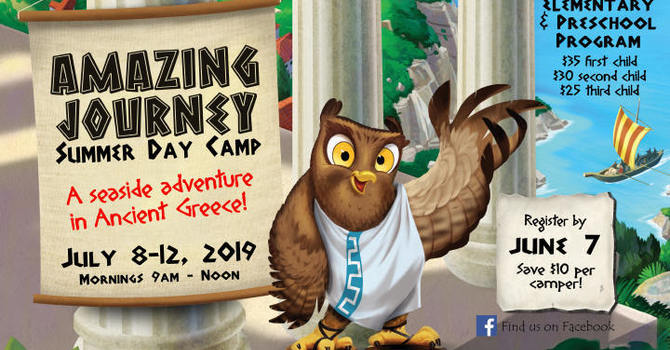 Registration is Open for the Amazing Journey Day Camp 2019 image