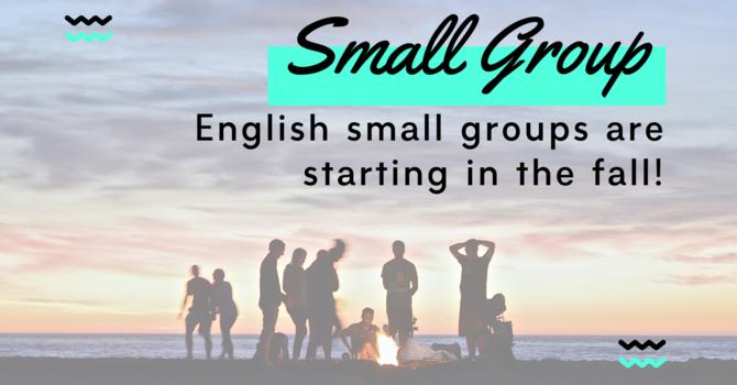 Small Groups Kick Off image