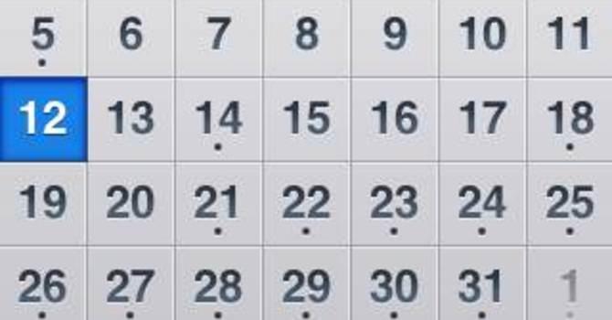 Master Worship Schedule (Jan - July)  image