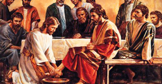 A Maundy Thursday Message image