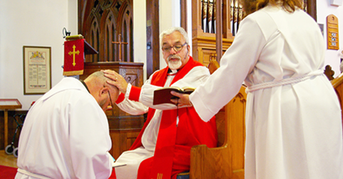 Boomer ordination celebrated in Woodstock image