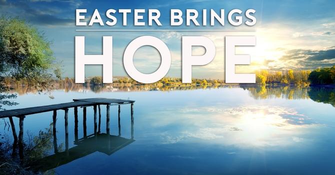 Easter Brings Hope image