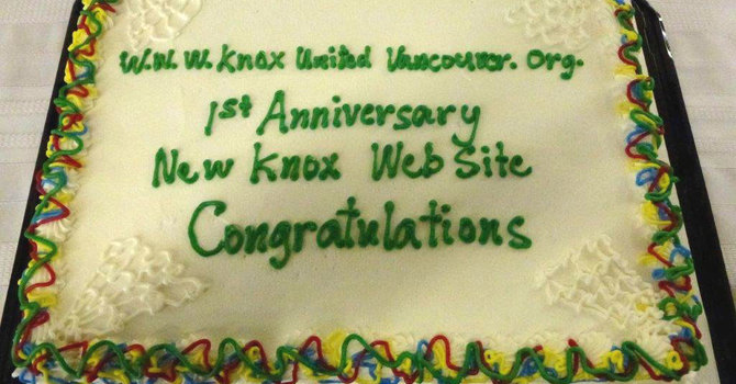 Cake for This Website's FIRST Anniversary image