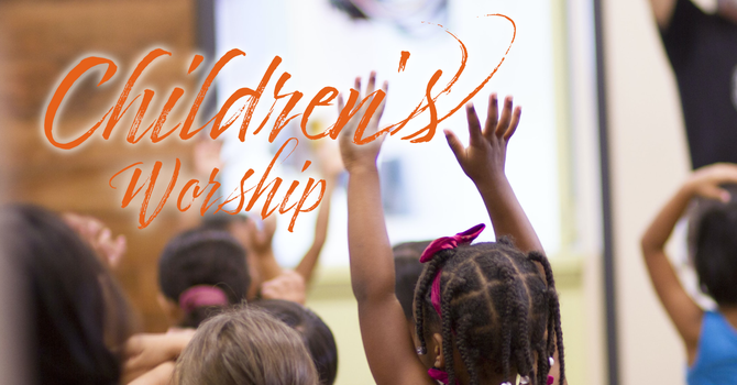 Children's Worship Service image