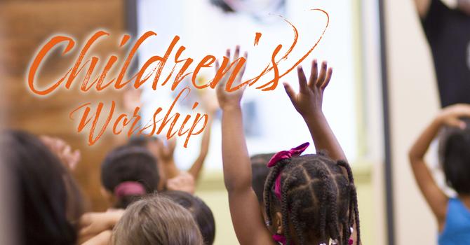 Children's Worship Service image