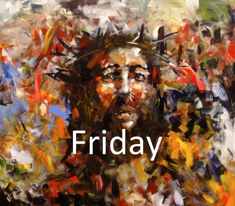 April 10: Good Friday Morning/Evening Prayer