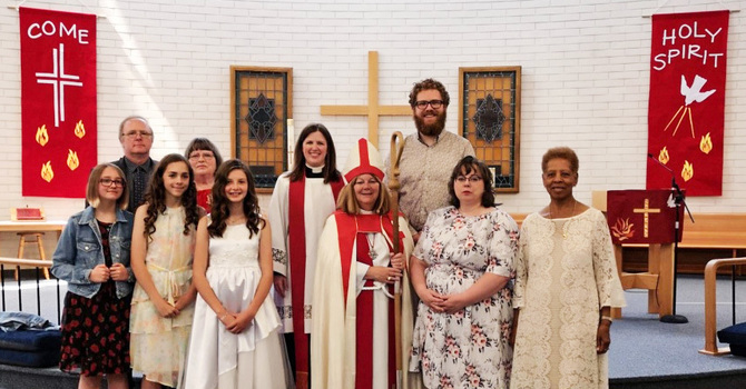 Confirmations Celebrated on Pentecost Sunday