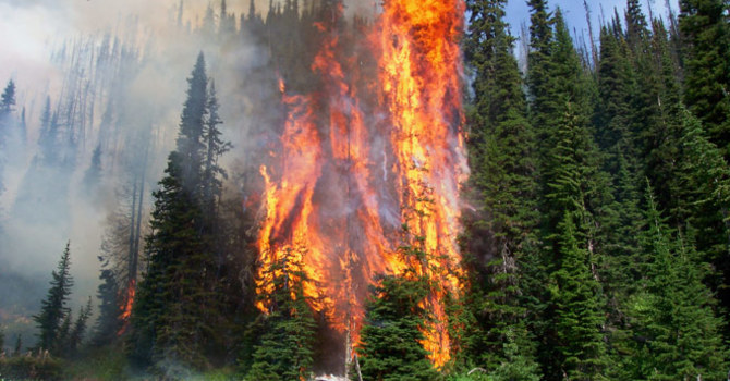 BC Wildfires - Pray For Those Affected image