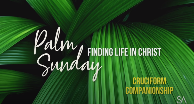 Palm Sunday: Finding Life in Christ