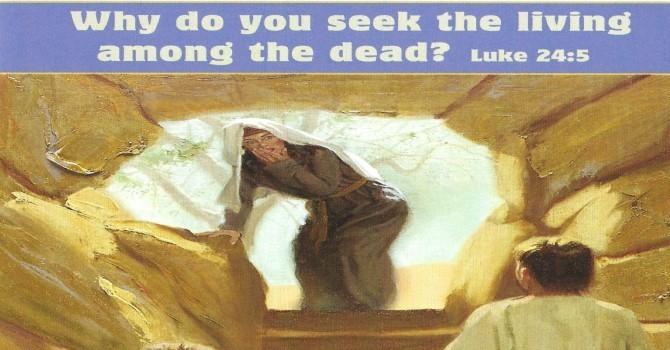 Worship Service Bulletin - Easter Sunday image