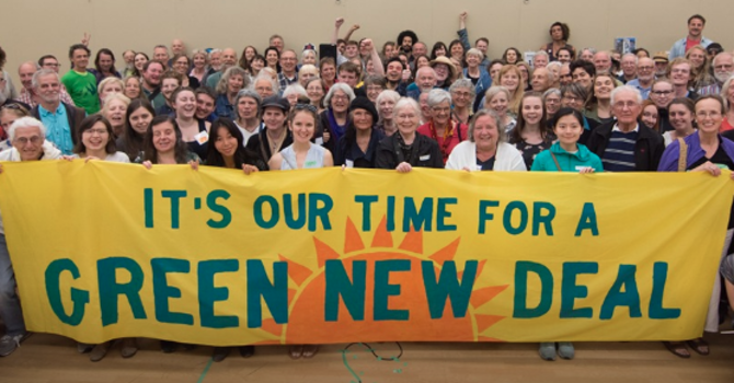 The Green New Deal is gaining momentum image