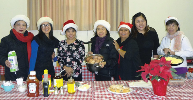 St. Mary's South Hill - Christmas Breakfast