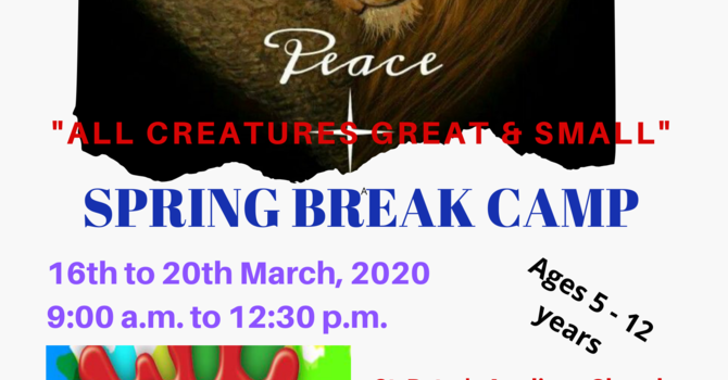 Messy Church Spring Break Camp - CANCELLED