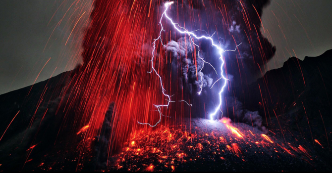 Volcano God