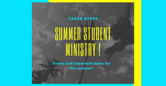 Summer Youth Ministry image