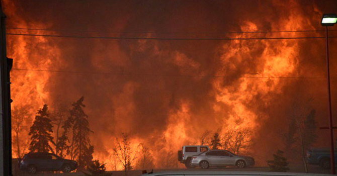 Prayer for Fort McMurray image