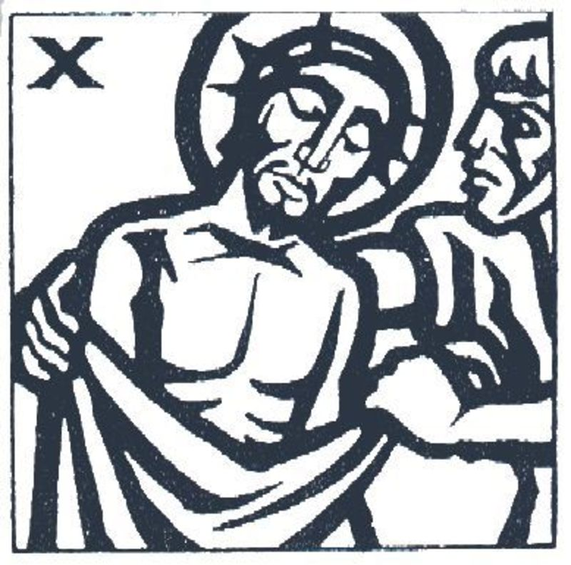 Station 10 - Jesus is Stripped of His Garments