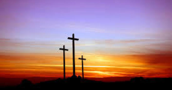 Shadows - Good Friday Reflections by Keltie and Wayne