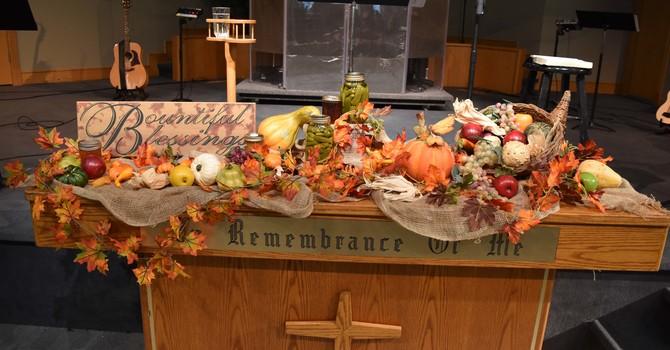 Celebrating on Dedication Sunday image