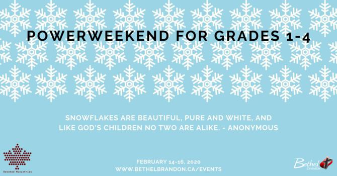 Powerweekend Grades 1-4