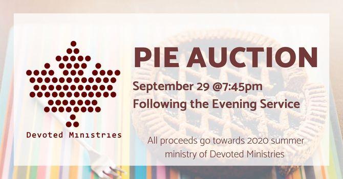 Devoted Ministries Pie Auction