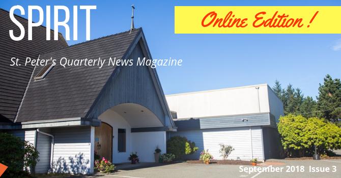 PUBLISHED! September Issue of SPIRIT Magazine image