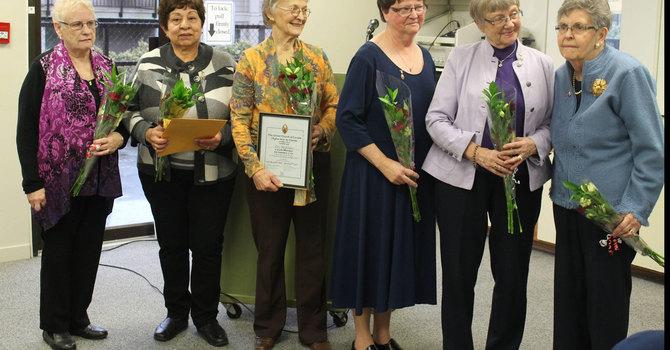 UCW Lifetime Membership Recipients image