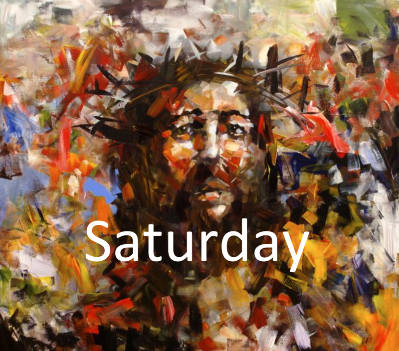 April 11: Holy Saturday Morning/Evening Prayer